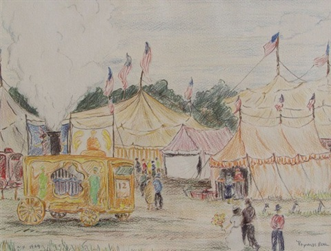 the circus, new york by reynolds beal