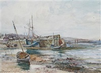 low tide by james hughes clayton
