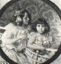 niñas de azul by enrique simonet lombardo