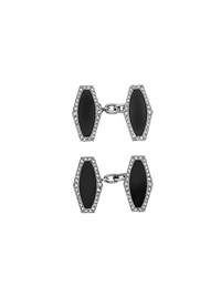 art deco cufflinks (pair) by cartier