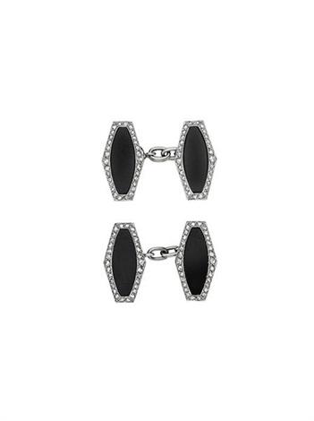 art deco cufflinks (pair) by cartier