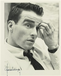portrait of montgomery clift by norman parkinson