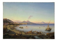 the bay of naples by johann georg gmelin