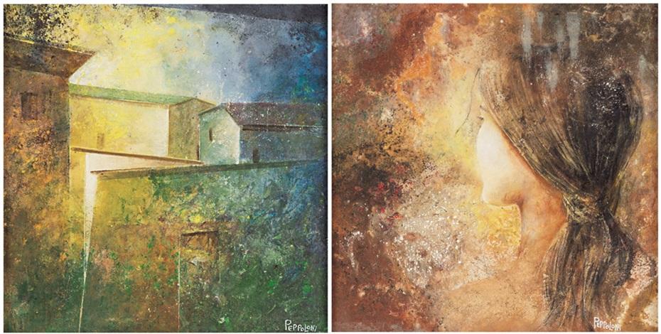 paesaggio figura 2 works by alvaro peppoloni