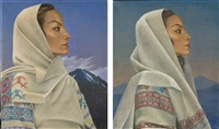 maria felix (2 works) by antoine tzapoff