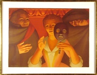 the masquerade ball by george tooker