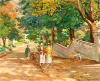 promenade in the park by joseph lauber