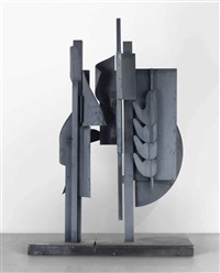 sky landscape ii by louise nevelson