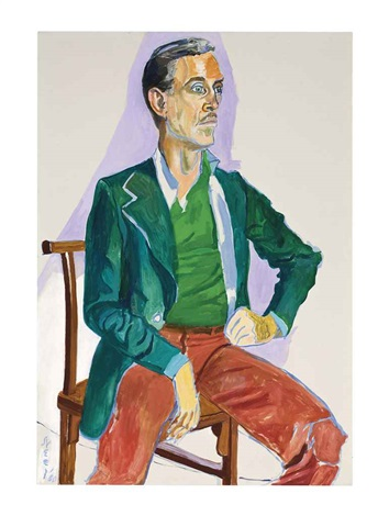 portrait of frederic mueller by alice neel