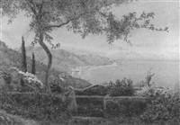 a garden in taormina by edith helena adie