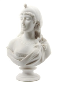 bust of a maiden by eduardo del santa