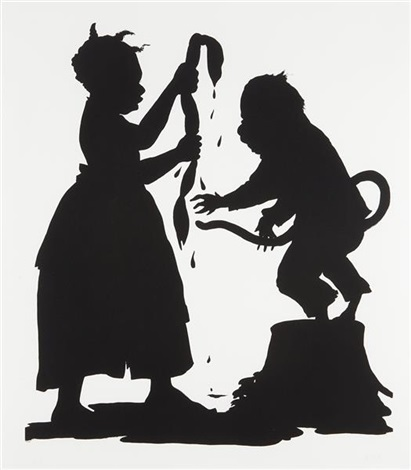 ill be a monkeys uncle by kara walker