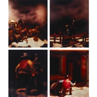 untitled (4 works from the wild west) by david levinthal