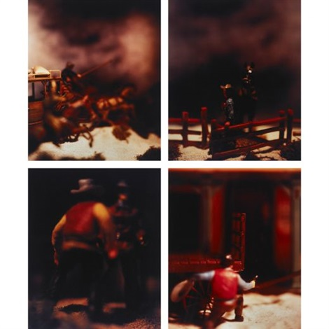untitled 4 works from the wild west by david levinthal