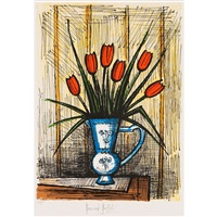 tulipes by bernard buffet
