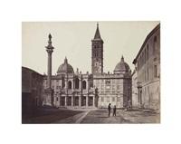 santa maria maggiore, rome by gioacchino altobelli