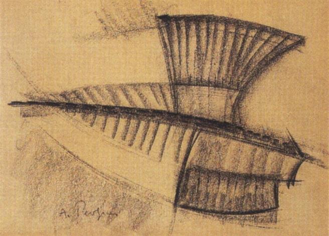 étude pour une sculpture by antoine pevsner