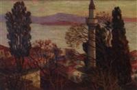 les hauteurs d'istanbul by albert hill
