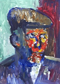wigan man in cap by james lawrence isherwood