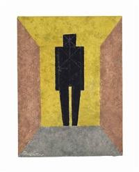 figura en negro, from: rufino tamayo 15 aguafuertes by rufino tamayo