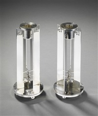 tischleuchter (pair) by richard meier