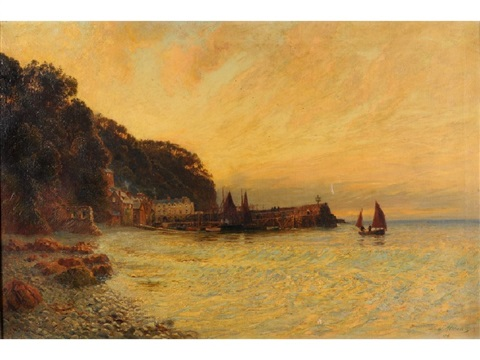 clovelly by fritz b althaus