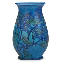 vase with hydrangeas by louise abel