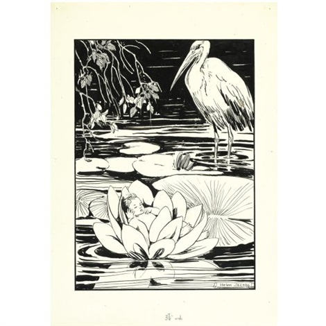 Illustrations For The Marsh Kings Daughter Various Sizes Set Of 28 By Helen