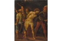 die geißelung christi by anonymous-flemish (17)