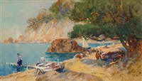 on the french riviera by george charles haite
