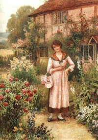 gathering roses by william affleck