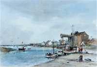 wells quay by arthur edward davies