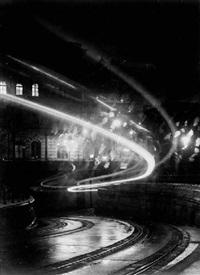 city lights by imre kinski