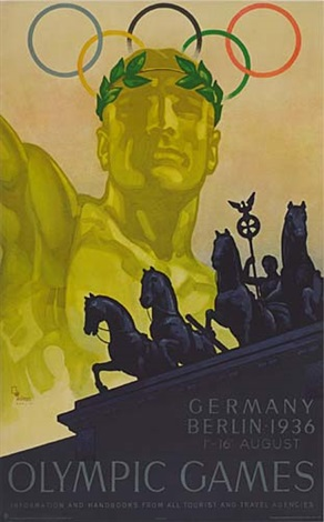 germany olympics by franz würbel