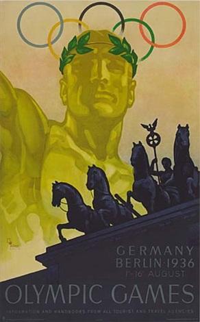 germany olympics by franz würbel