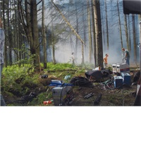 production still (forest gathering 31) by gregory crewdson