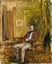 portrait of sir alfred munnings, p.r.a. by maurice f. codner