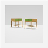 nightstands (pair) by tommi parzinger