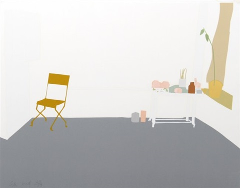 gray interior by alex katz