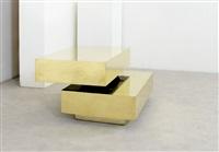tavolo basso mod. scultura by gabriella crespi