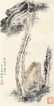松石图 by xu zhao