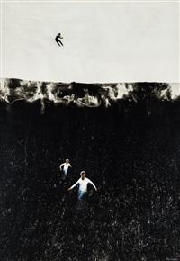 planetary realism: runing men by pyotr belenok