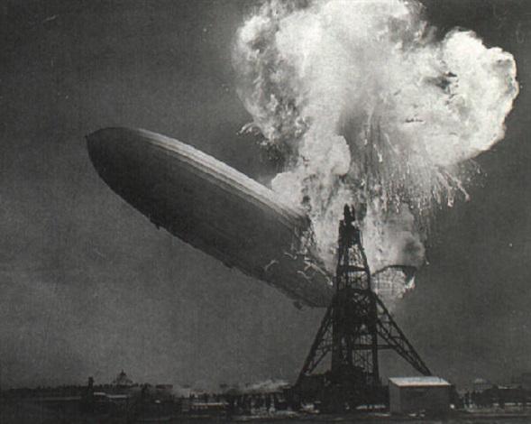 hindenburg explosion by charles hoff