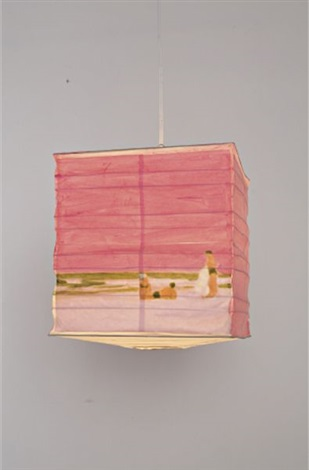 pink beach lantern by isca greenfield sanders