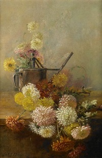 chrysanthemums by carle john blenner