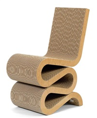 chaise wiggle by frank gehry