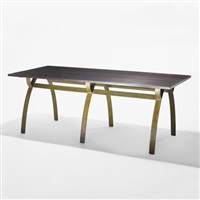 dining table from la croiz du sud, dakar by renou and genisset