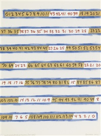 continuous/dis/continuous (ox-zig) by mel bochner