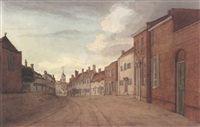 view of ampthill, bedfordshire by thomas fisher