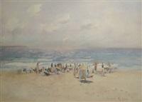 sydney beach scene by carlyle jackson